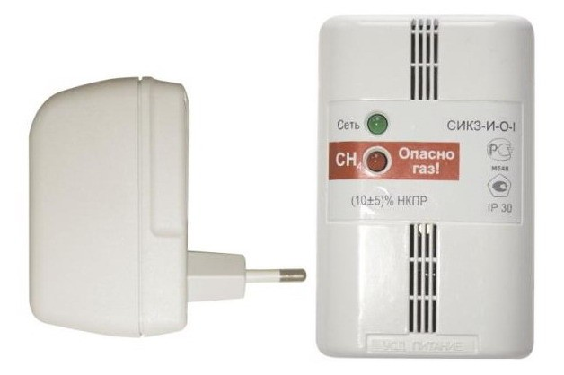 Сигнализатор загазованности (газосигнализатор) СИКЗ без клапана